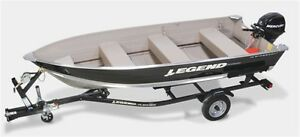 2015 legend boats 14 WideBody Bench Mercury 9.9 MLH 33.88$*/sem