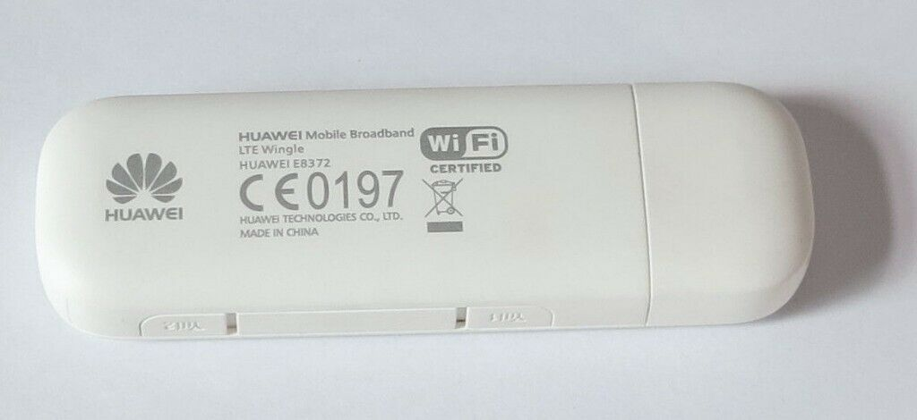 Huawei E8372 Wingle- 4G Unlocked WiFi / WLAN LTE modem – White | in East  End, Glasgow | Gumtree