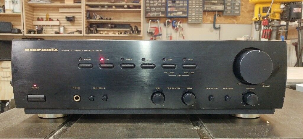 Marantz PM-43 Integrated Stereo Amplifier with phono input | in Brighton,  East Sussex | Gumtree