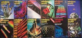 12 Wireless World Magazines 1976