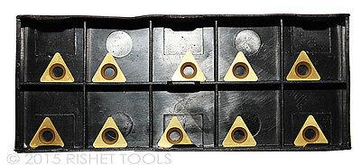 Rishet Tools Tpgb 221 C5 Multi Layer Tin Coated Carbide Inserts 10 Pcs