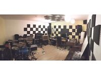 Affordable Soundproofed Music Studio + WIfI + 24/7 Access fully secured area