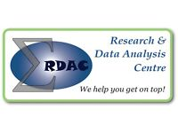 Statistical and Research Consulting: data analysis, projects, theses, papers, reports.