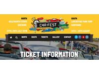 1 x CarFest South with Camping Ticket - £165.00 (£10 saving !!)