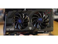AMD Sapphire HD 7850 2GB OC - Works with new AMD Link App - Wallington | Croydon | Purley £45