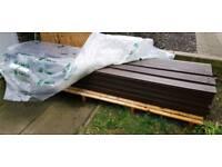 Ecodek solid composit decking.retails @ £2500