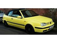 Wanted / offers vw golf mk3.5 cabby.