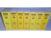 Wisden Cricketers' Almanacks, Playfair Cricket Annuals & Cricketers Who's Who - Various Years