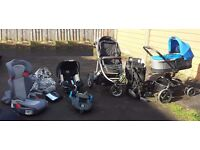 Buggy, Pram, Car Seat, Backpack