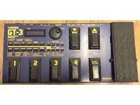 Boss GT3 multi-effects pedal £75 ono