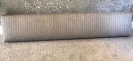 Gorgeous Silver Shimmer Pelmet