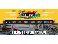 1 x Adult Full Weekend Camping Ticket for CarFest South 2018 for only £150 !!