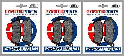 Front & Rear Brake Pads for Honda CBR1100 XX Blackbird 97-08