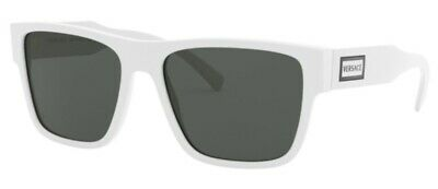 Versace VE4379 401/87 56mm Sunglasses White / Grey Lens [56-17-140]