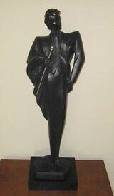 "Large Impressive And Stylish ""Austin Sculpture"" Signed By Danel Alexander 1989."