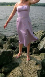 Formal Da Vinci Dress - Lilac - Size 12