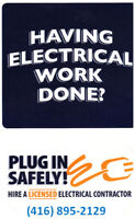 Licensed Electrician  and master Electrician