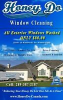 HONEY DO WINDOW CLEANING - $80 SPECIAL