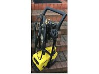 karcher pressure washer on stand
