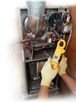 24 hr furnace, hot water tank, boiler repair