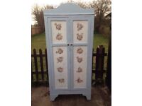 Shabby Chic Vintage Armoire Wardrobe project