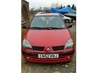 Renault Clio Ideal first car - £195