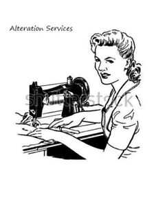 Clothing alterations & repairs / Sewing curtains