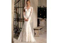 Ivory Wedding Dress + Long Vail