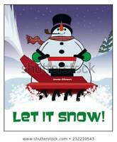 THE SNOWMAN! CALL US FIRST! 769-9192