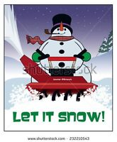 THE SNOWMAN!! SNOW REMOVAL 749-1585