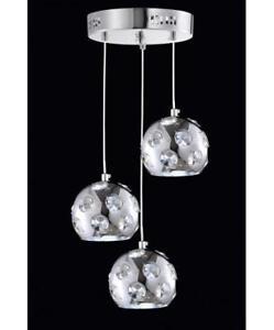Triple Crystal Bulb with LED