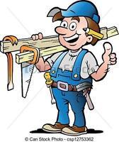 Journeyman carpenter (red seal) for hiring.