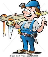 RENOVATIONS, INTERIOR TRIM , Drywall Repairs, we do it all