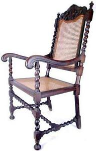 antique dining chairs cane