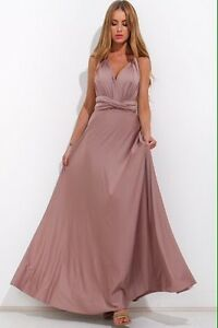 BRIDESMAID CONVERTIBLE FORMAL EVENING MAXI DRESS 20+ COLOURS Brisbane City Brisbane North West Preview