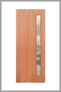 Stain grade timber front door- near new Grange Charles Sturt Area Preview