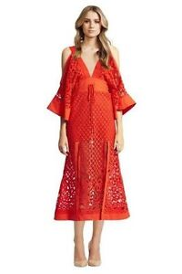 Alice McCall red lace dress Ultimo Inner Sydney Preview