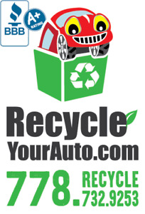 Recycle Your Auto: $$ Scrap Car Removal for Cash $$