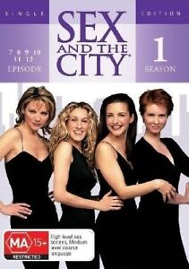 Sex-And-The-City-Singles-Season-1-Disc-2-DVD-2006-Region-4-Comedy-DVD-VGC