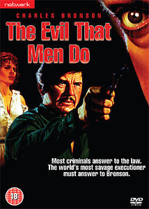 THE EVIL THAT MEN DO (Charles Bronson) Brand new sealed DVD.