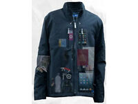 Brand new AyeGear 22 - water resistant, 22 pocket geek traveler jacket Size XL