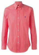 Polo Ralph Lauren Red Striped Shirt Newstead Brisbane North East Preview