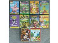 Children's DVDs (34 titles)