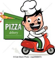 Pizza delivery driver wanted