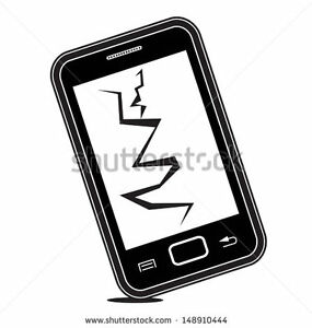 WANTED: Cell Phone (ipod touc) with cracked screen