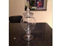 Round Bon Bon Glass Jar