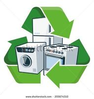 Free - appliance - scrap - steel – e-waste removal