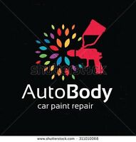 Automotive painting and cracked bumpers