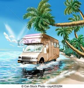 Land to set up a camper near the ocean to lease or rent