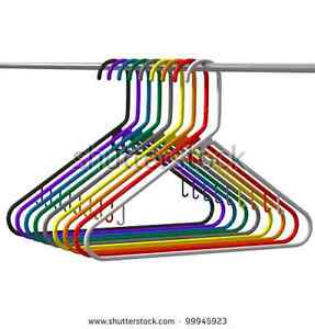 **WANTED**  Plastic clothes hangers